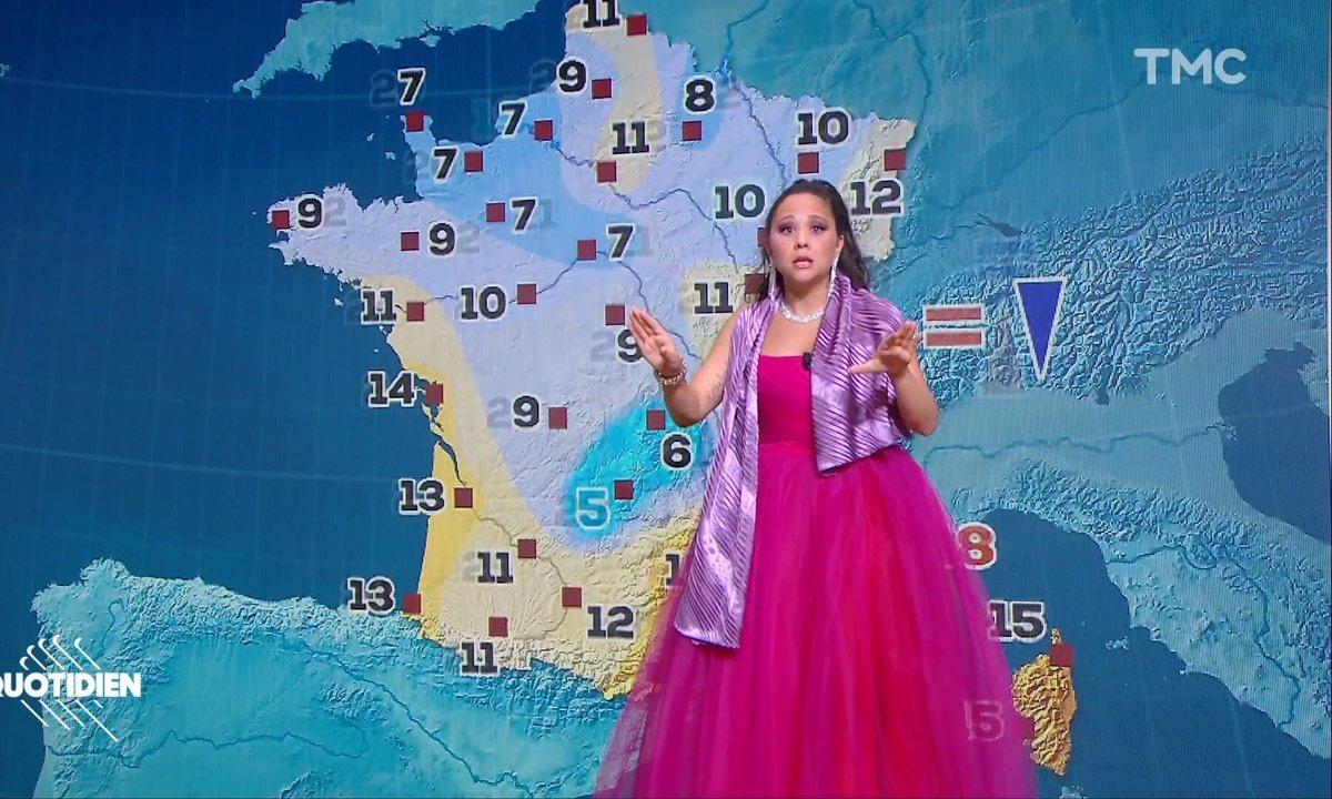 La météo de Vanessa Poteau (Laura Felpin)