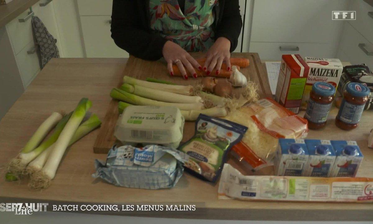 La mode du batch cooking, les menus malins