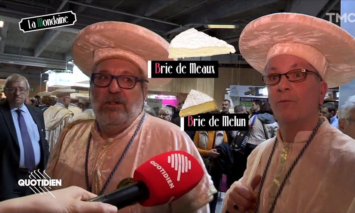 La Mondaine au Salon de l'Agriculture : les hommes de la confrérie du Brie