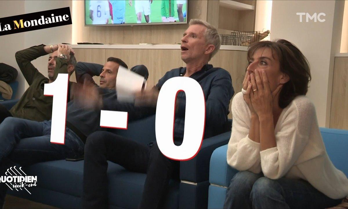 La Mondaine en coulisses avec le Mag de l'Euro de TF1
