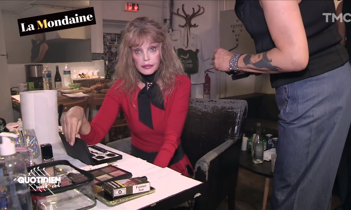 La Mondaine s'invite au concert d'Arielle Dombasle