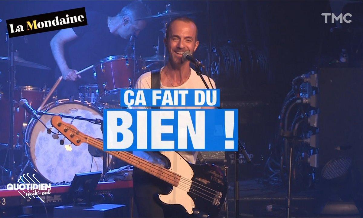 La Mondaine s'invite au concert de Calogero