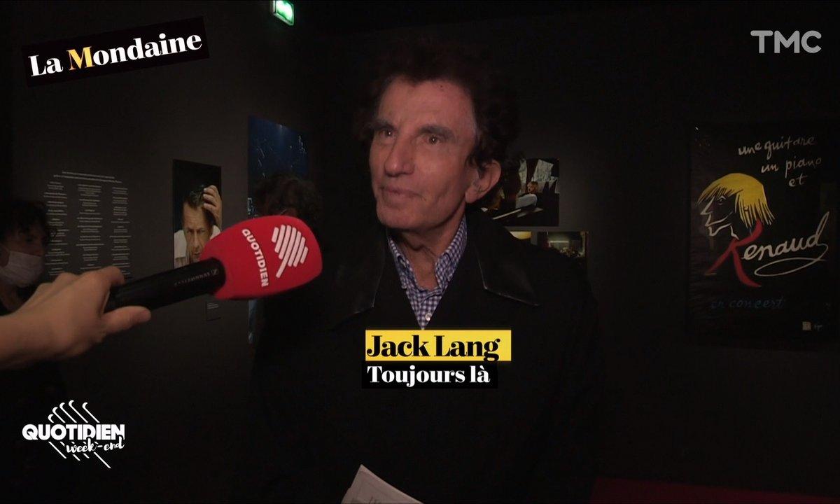 La Mondaine s'invite au vernissage de l'expo Renaud