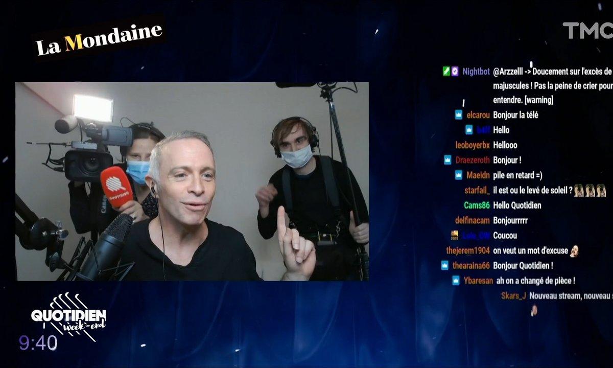 La Mondaine s'invite sur Twitch avec Samuel Etienne