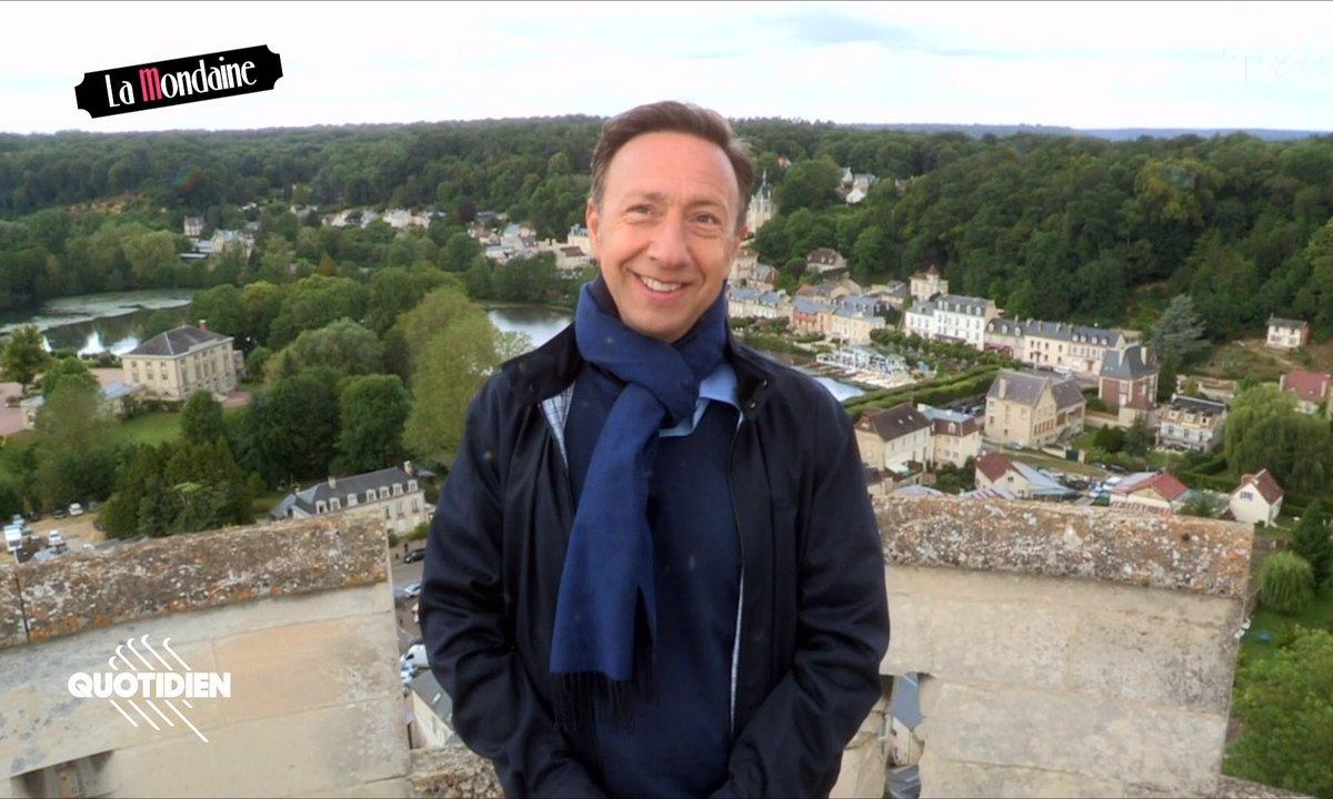 La Mondaine visite le château de Pierrefonds avec Stéphane Bern