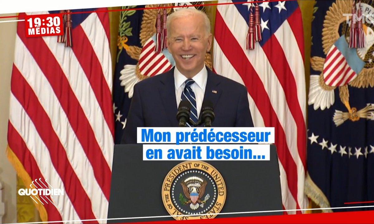 La petite phrase de Joe Biden à Trump pendant sa conférence de presse