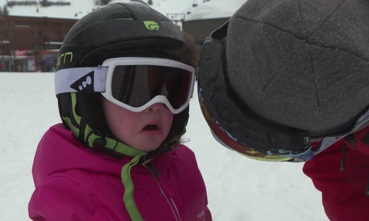 La première leçon de ski de Luna vire au drame