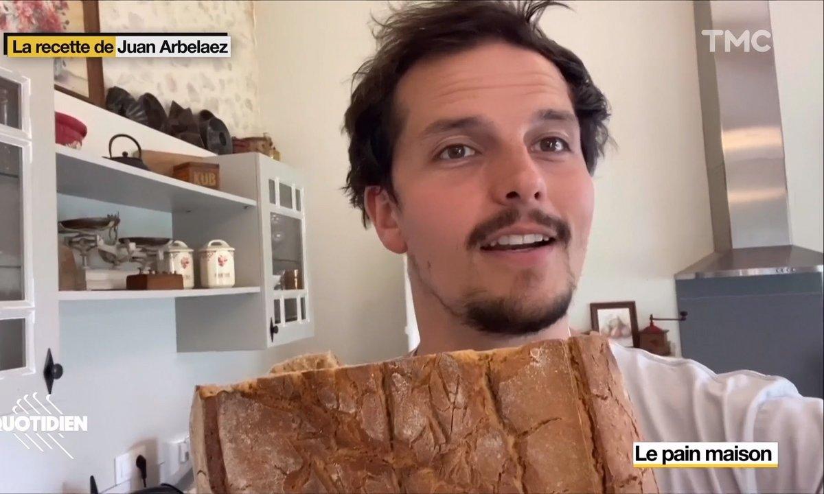 La recette de Juan Arbelaez : le pain maison