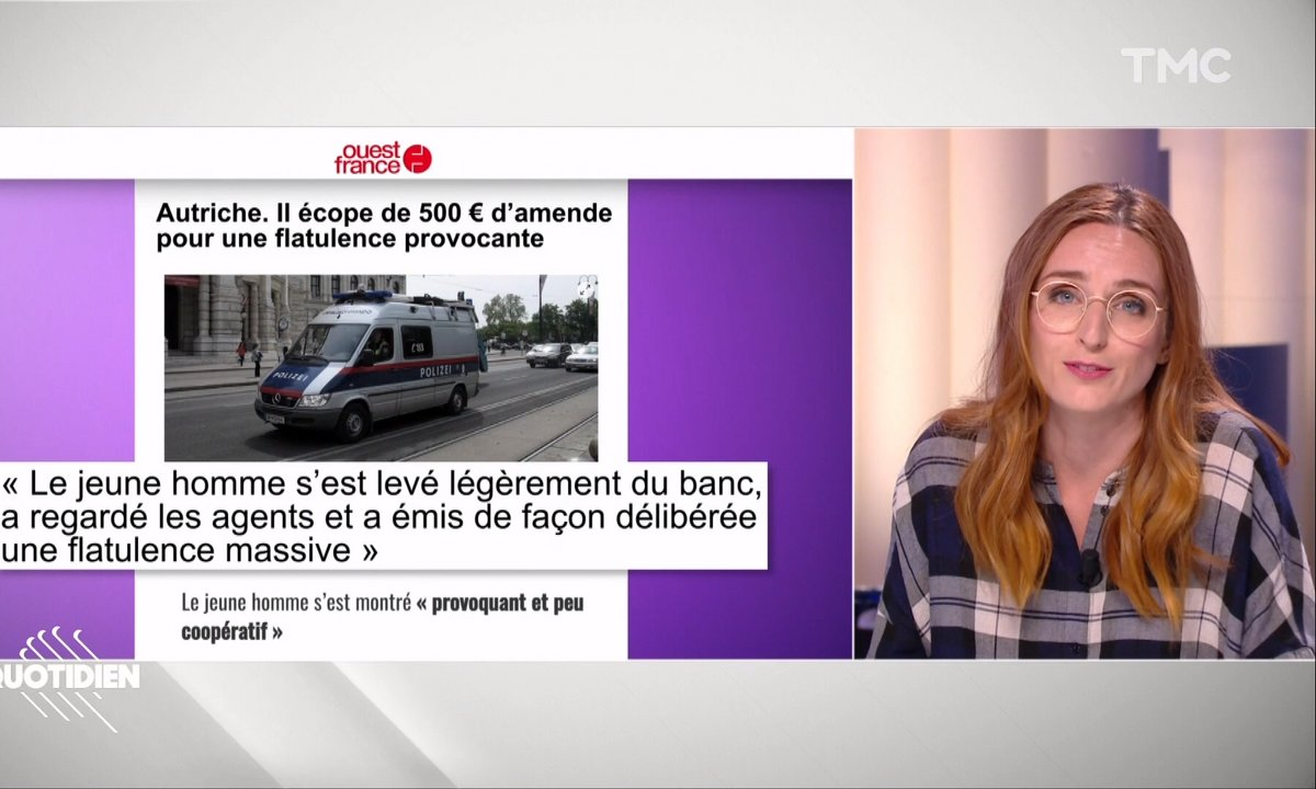 La revue de presse d'Alison Wheeler : Jean-Pierre Pernaut, cochon domestique et flatulence provocante