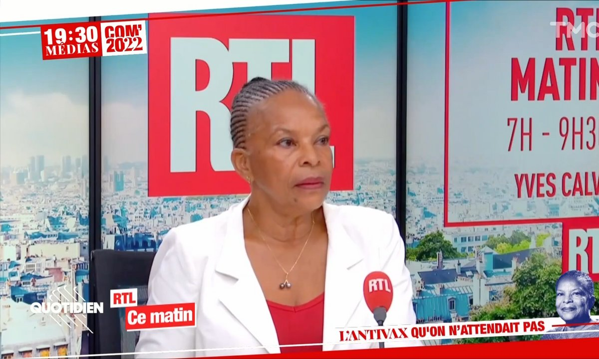 La sortie polémique de Christiane Taubira sur la vaccination
