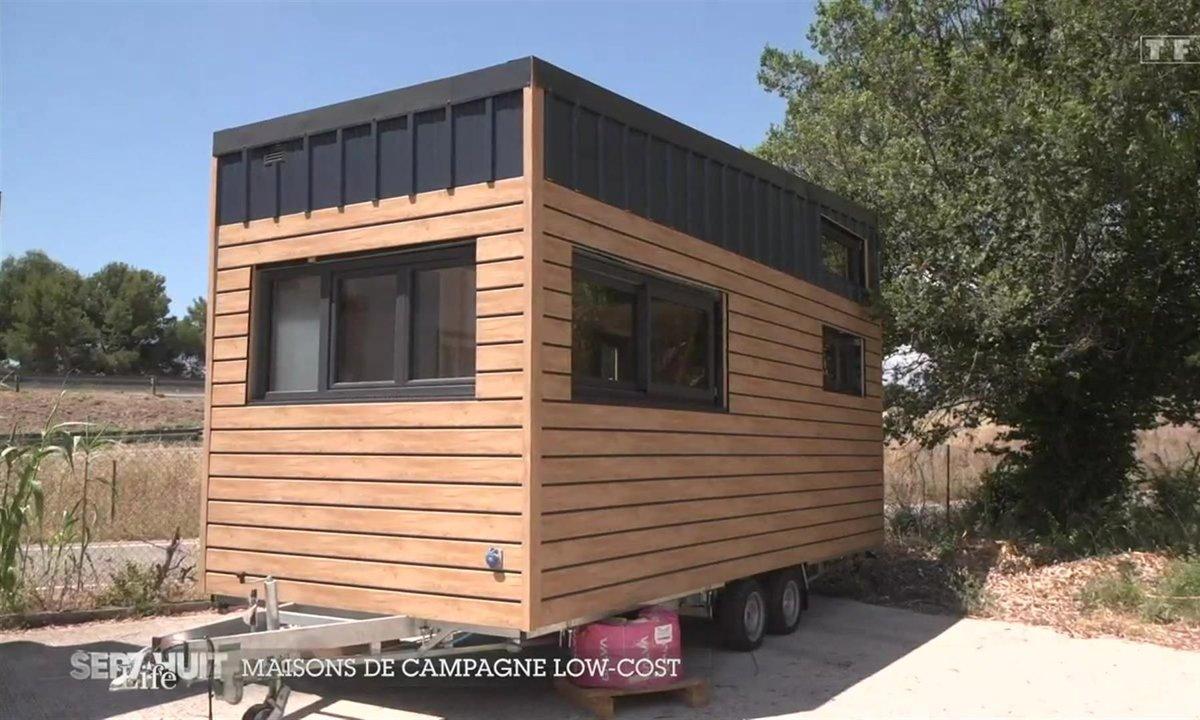 La tendance des maisons de campagne low-cost