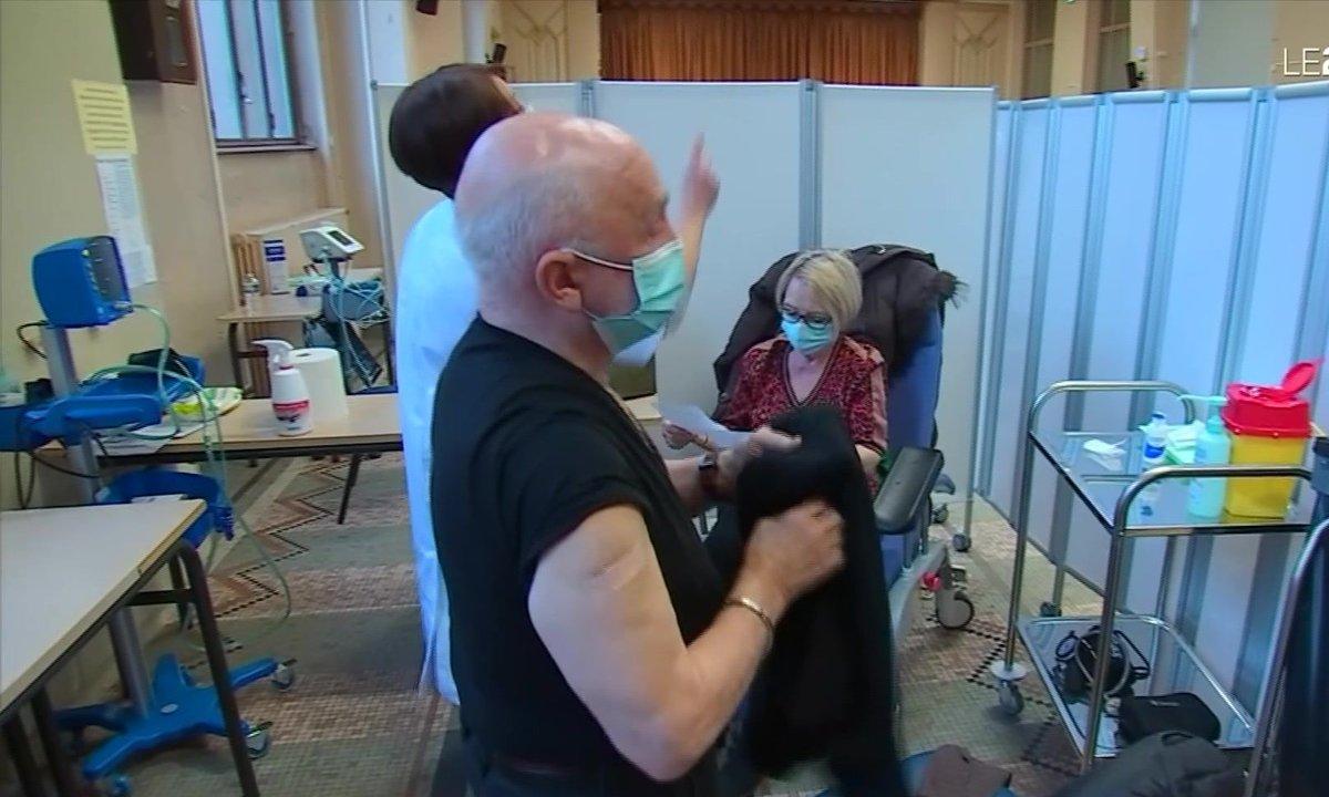 La vaccination des plus de 75 ans a commencé à Nancy