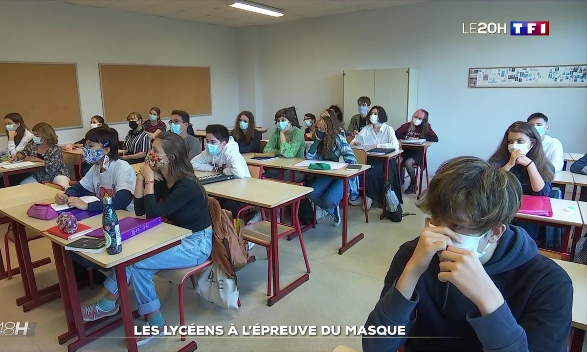 La vie masquée des lycéens dans le Calvados