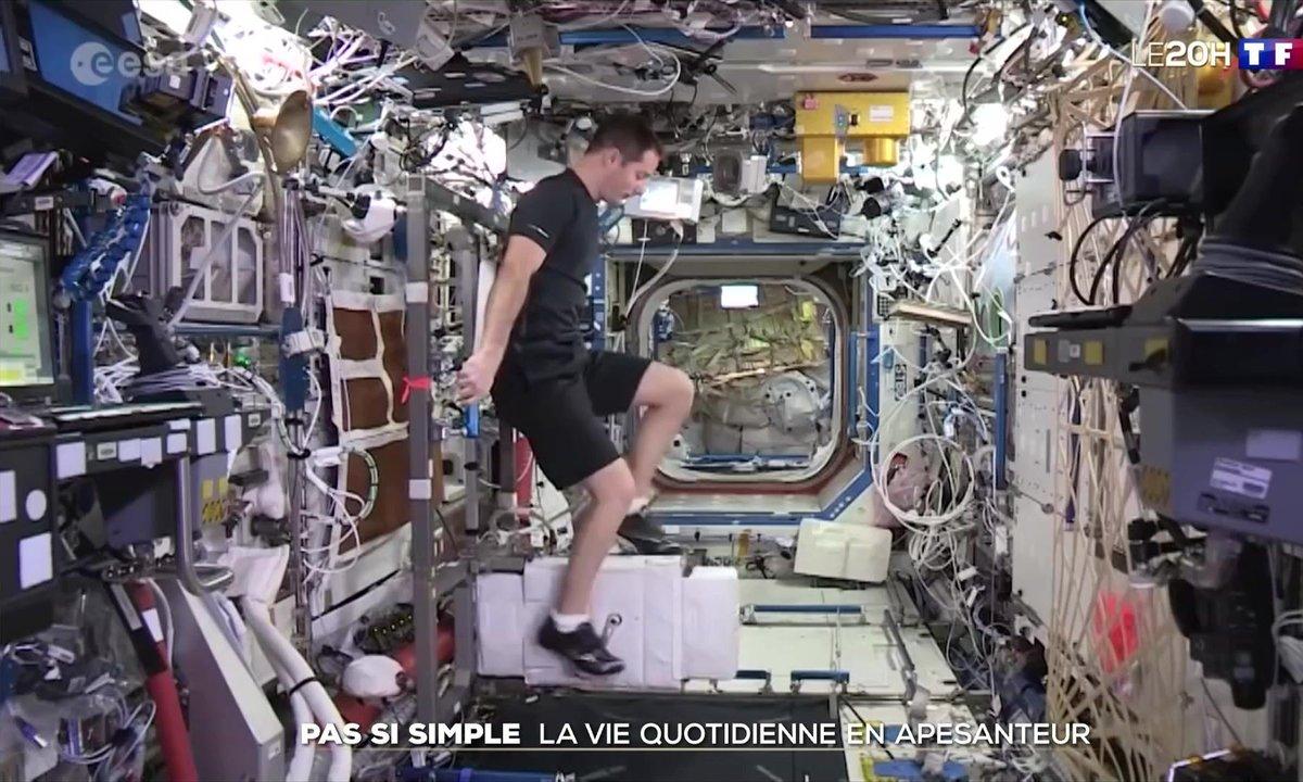 La vie quotidienne à bord de l'ISS