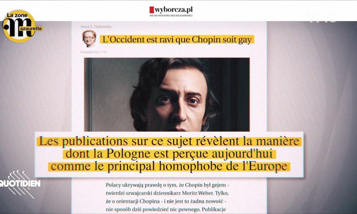 La zone Mazaurette: Chopin était homosexuel et ça enflamme la Pologne