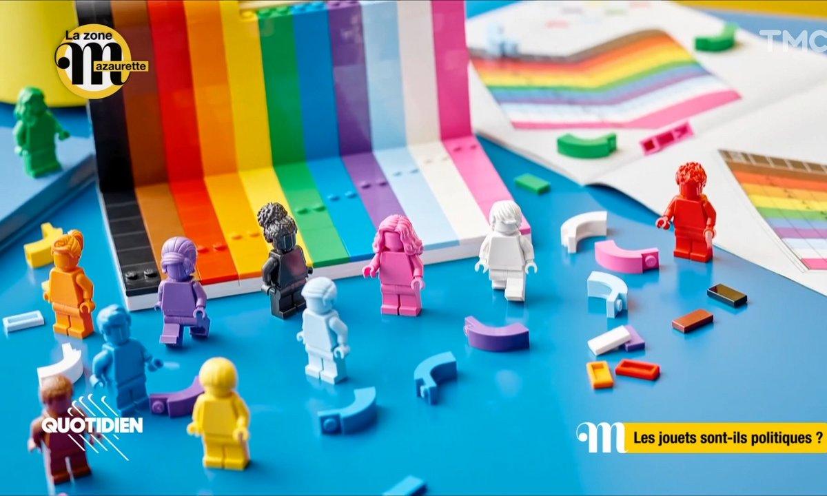 La Zone Mazaurette : LEGO sort sa boîte 100% inclusive, antiraciste et LGBTQIA+ friendly