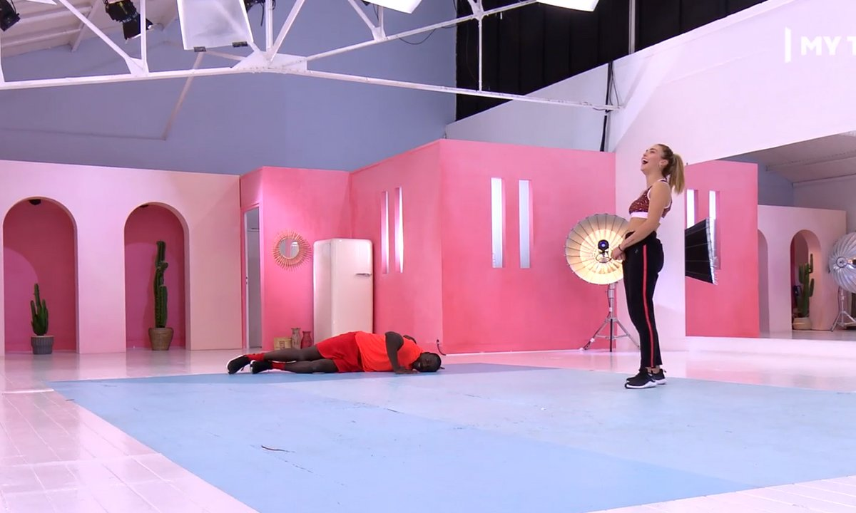 "DALS - Finale : Inès Vandamme :""Ladji, tu la joues JCVD ?"""
