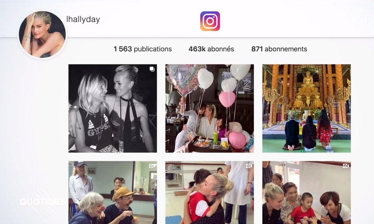 Zoom : pourquoi l'Instagram de Laeticia Hallyday pourrait lui coûter cher au tribunal