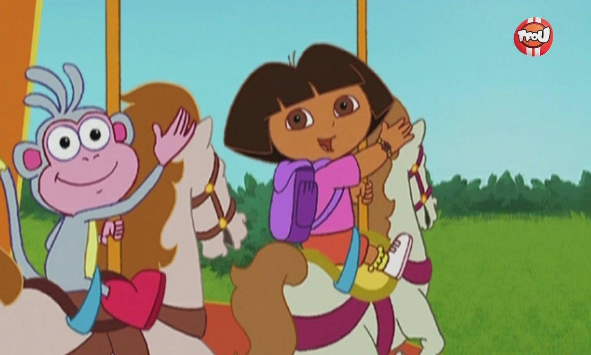 Dora l'exploratrice Le manège - La Grande Pinata - Extrait