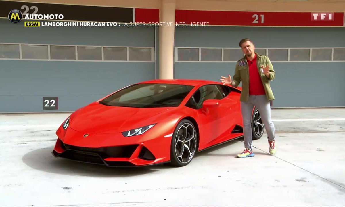 Essai - Lamborghini Huracan Evo, la supercar intelligente