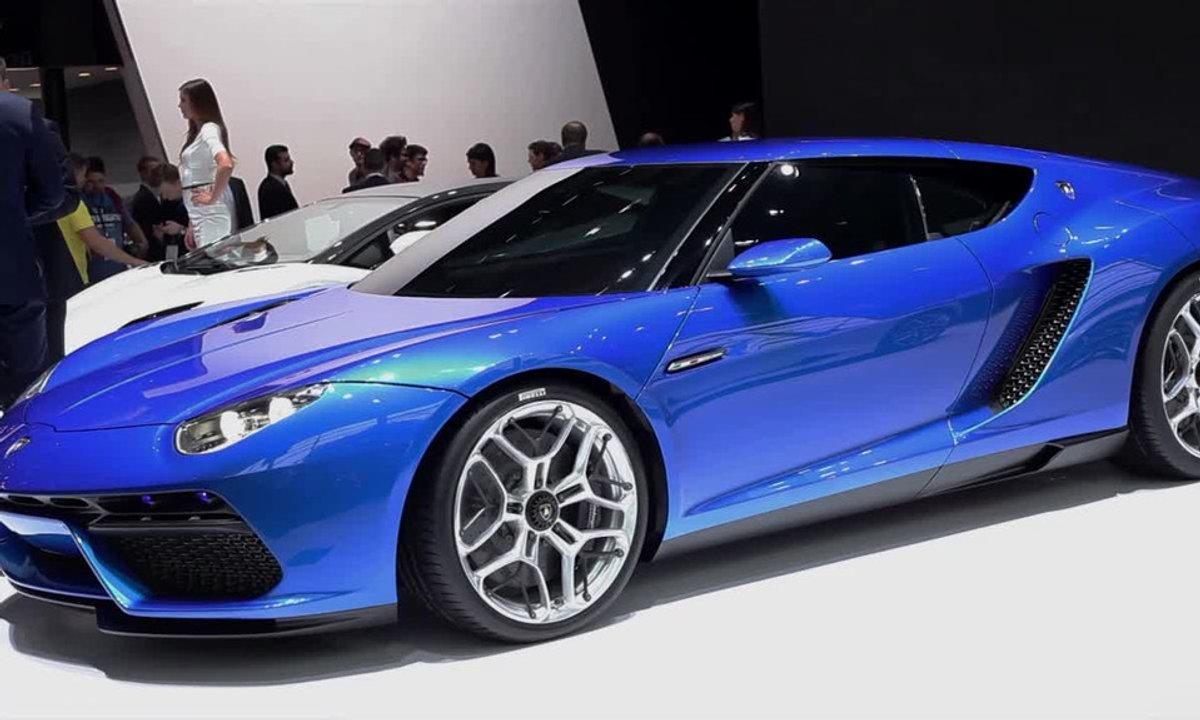 Lamborghini Asterion Concept, Supercar, Super green - Mondial de l'Automobile 2014