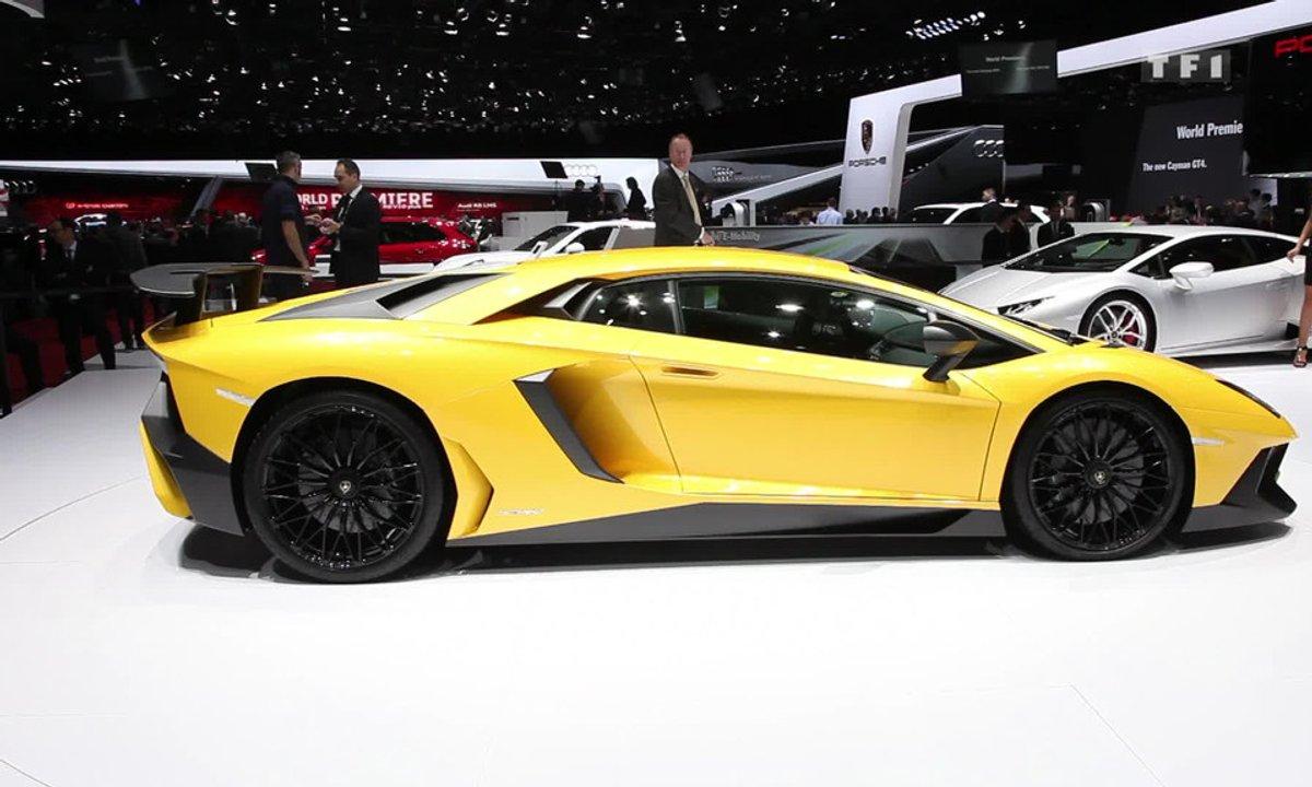 La Lamborghini Aventador LP 750-4 SV au Salon de Genève 2015