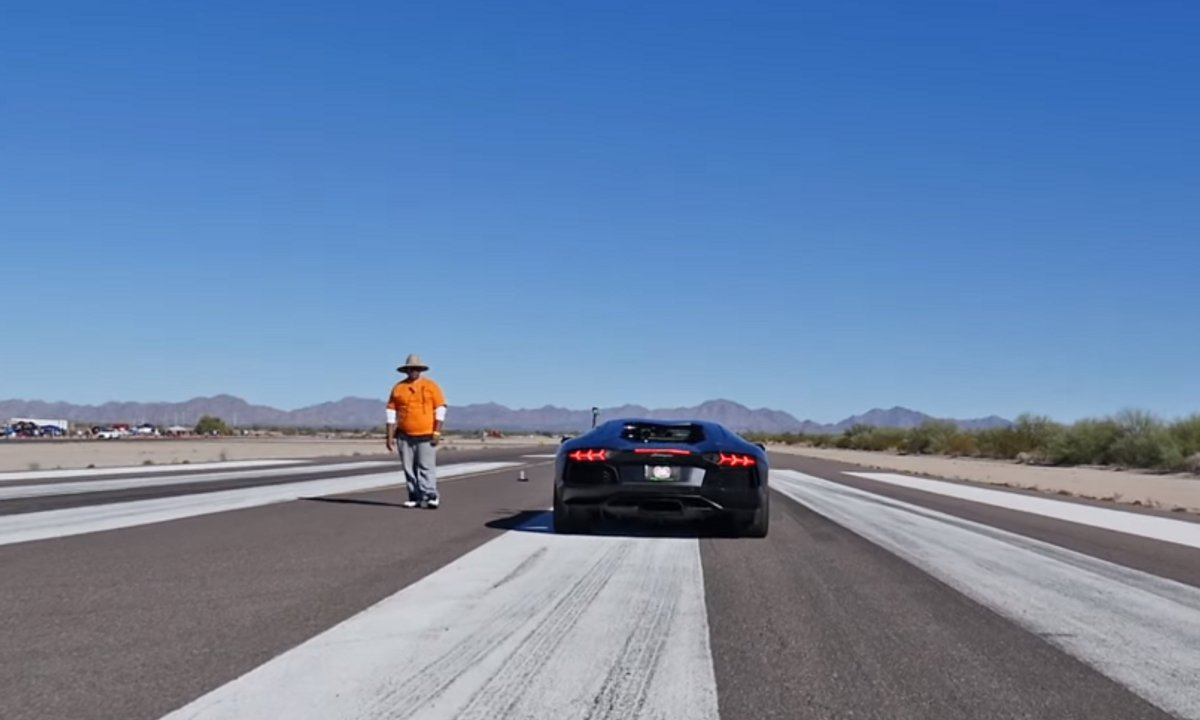La Lamborghini Aventador la plus rapide de l'histoire