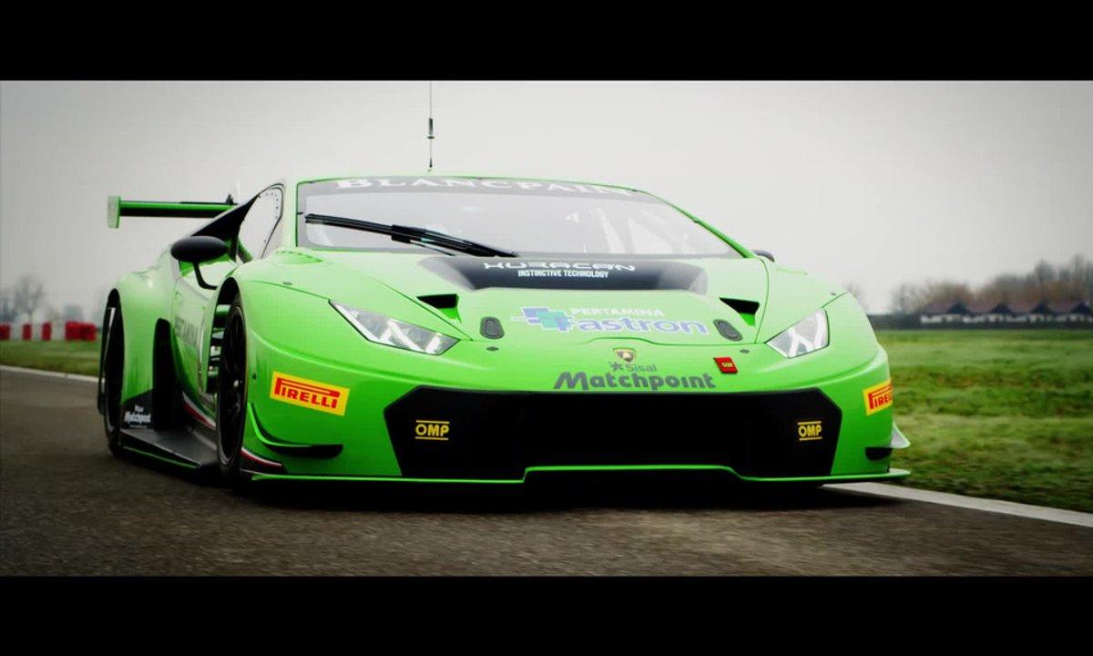 Lamborghini Huracan GT3 2015 : présentation officielle