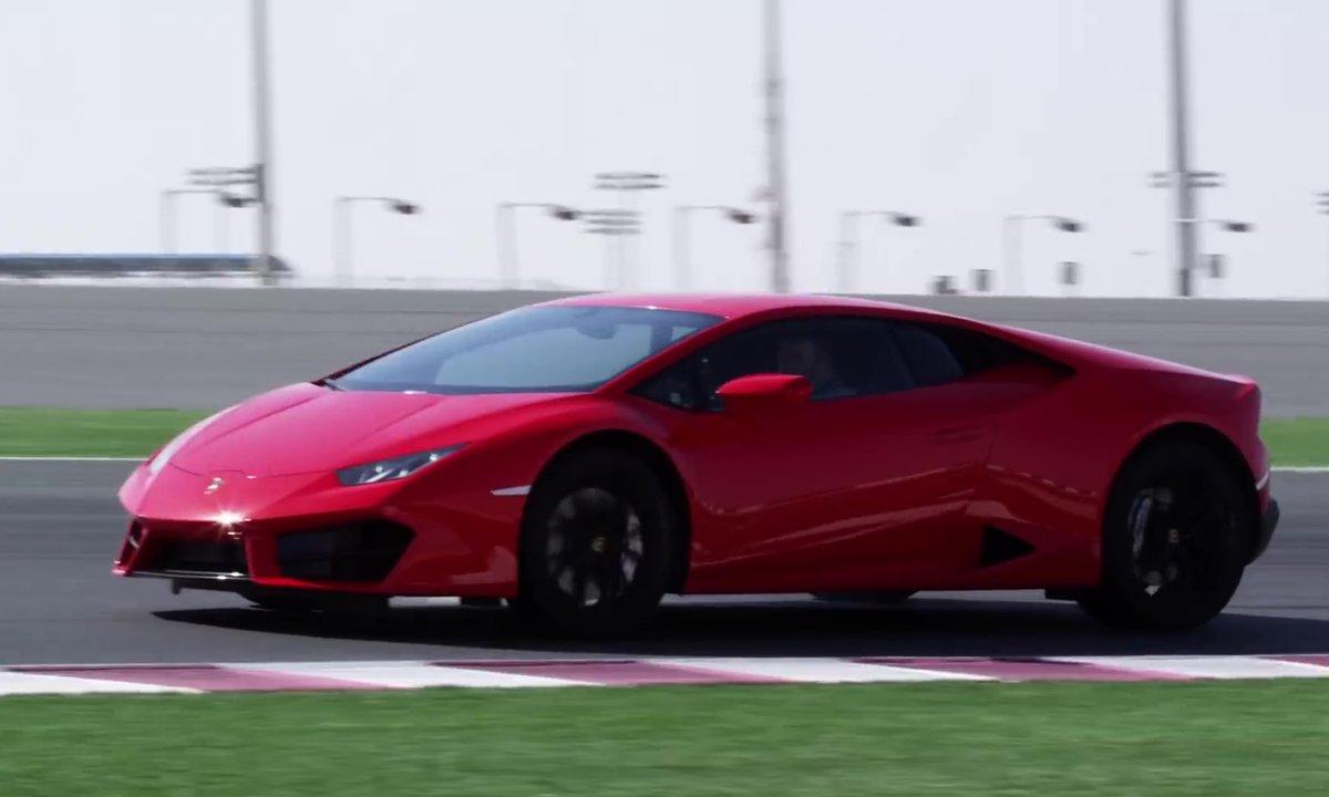 Lamborghini Huracan LP 580-2 : lancement officiel sur circuit