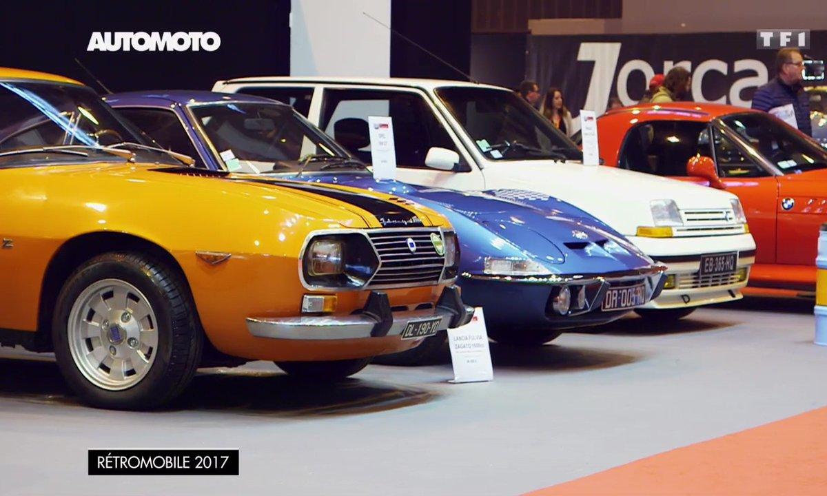 Les Renault R5 GT Turbo et Lancia Fulvia Zagato au salon Rétromobile 2017