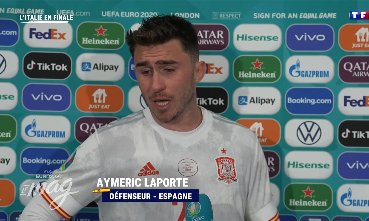 """Aymeric Laporte : """"C'était magique, mais l'aventure s'arrête ici"""""""