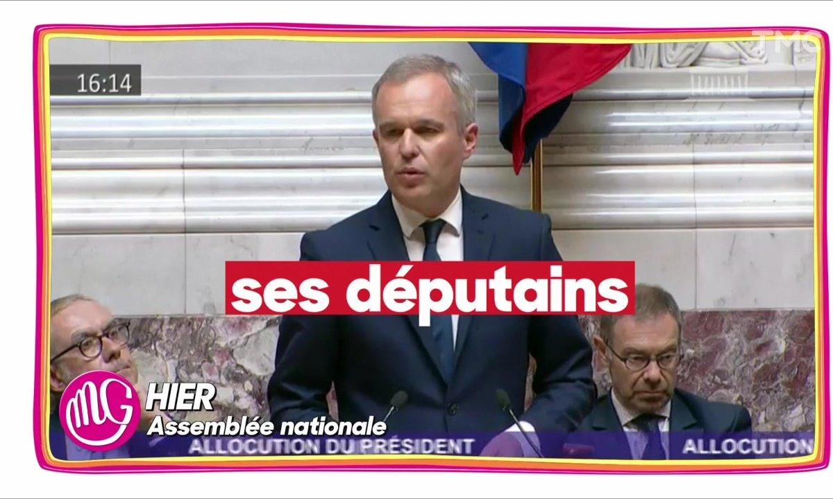Le lapsus de François de Rugy sur les députés