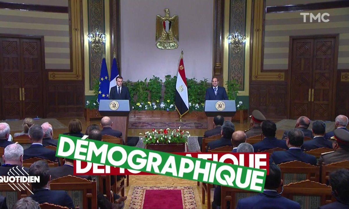 Le lapsus magistral d'Emmanuel Macron en Egypte