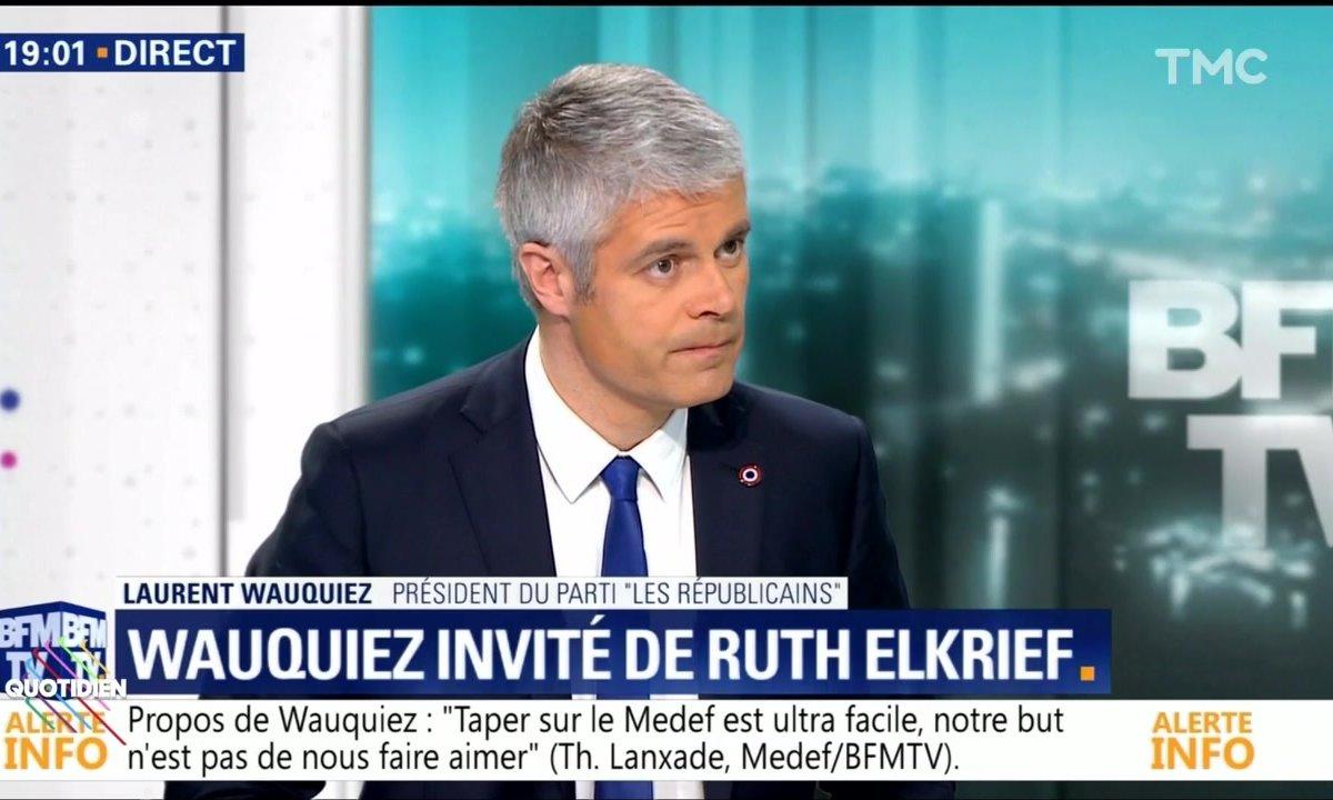 Laurent Wauquiez porte plainte contre Quotidien, la mise au point de Yann Barthès