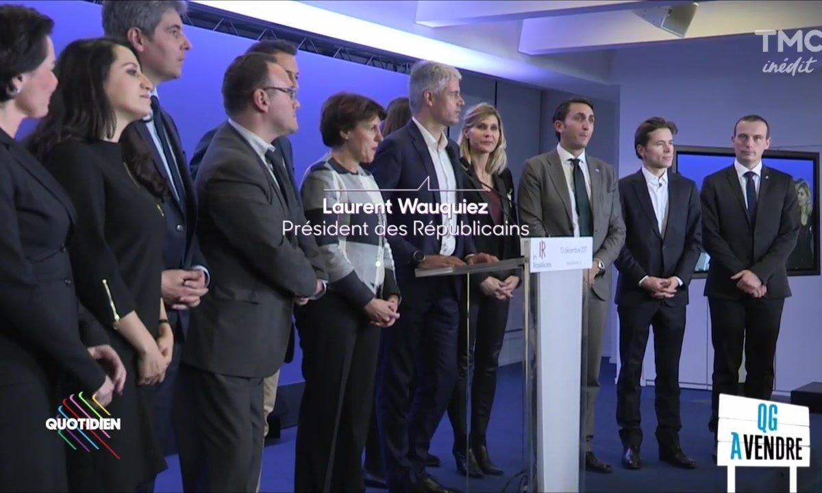 Laurent Wauquiez : son QG à vendre ?