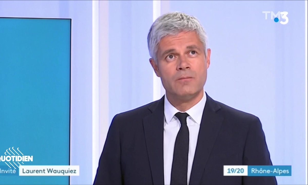 Laurent Wauquiez : quatre jours après sa démission, Bullshito est DÉJÀ de retour