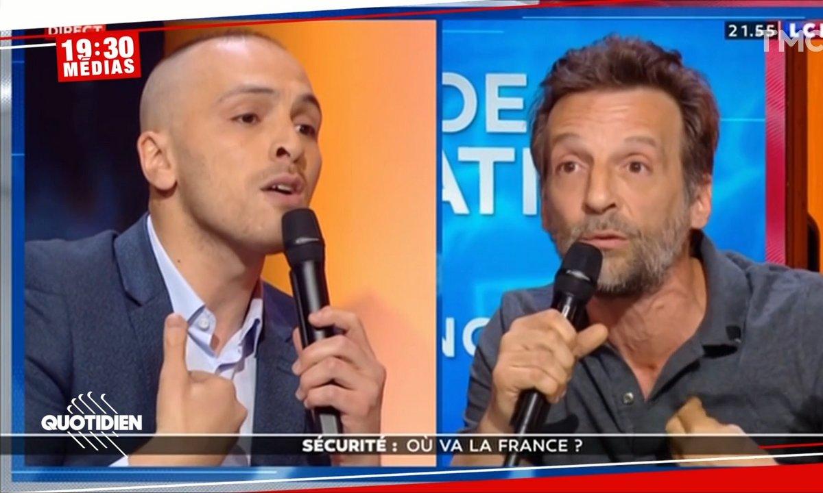 LCI : échange tendu entre Mathieu Kassovitz et un policier