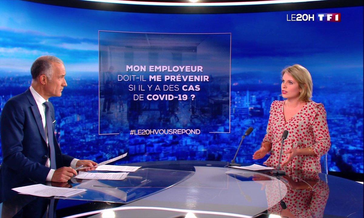 Le 20H vous répond : mon employeur doit-il me prévenir s'il y a des cas de Covid-19 ?