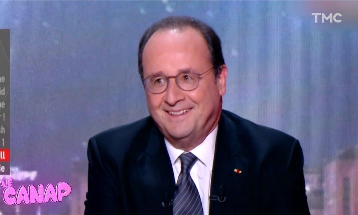 Le Canap : les tacles par derrière de François Hollande sur l'Equipe TV