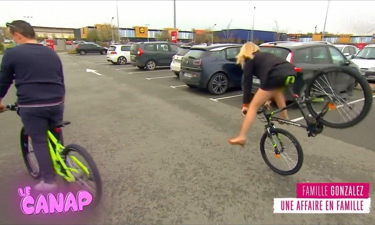 Le Canap : vu dans Familles nombreuses, la plus belle des chutes à vélo