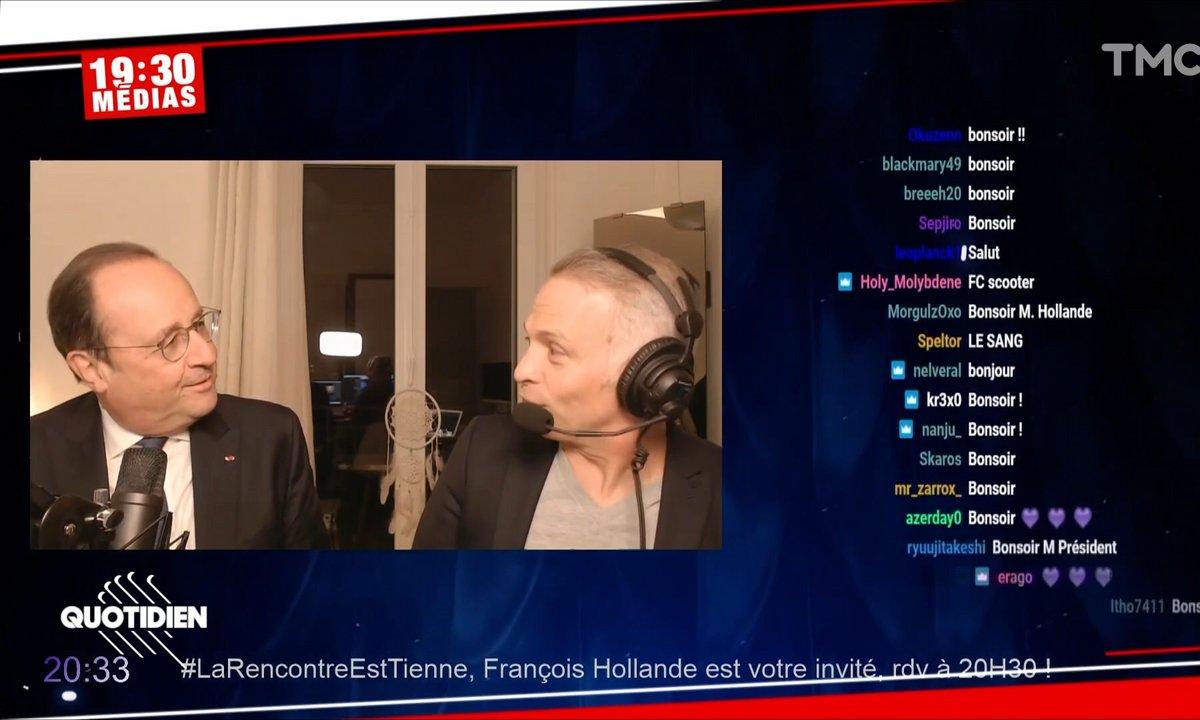 Le carton de Samuel Etienne et François Hollande sur Twitch
