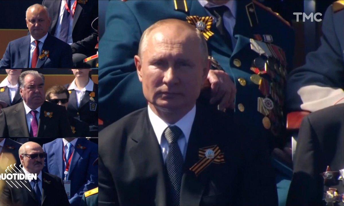 Le désopilant défilé militaire de Vladimir Poutine