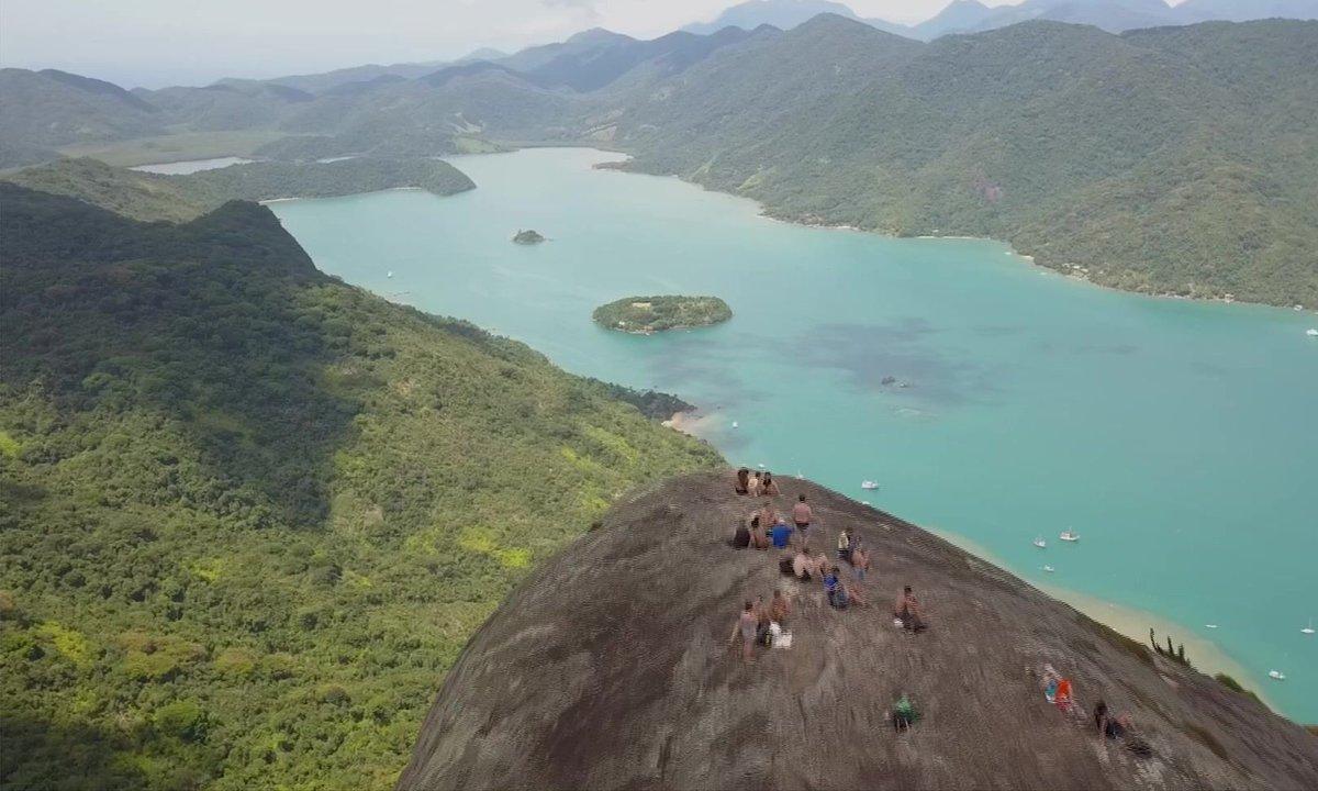 Le fjord tropical du Saco de Mamanguá, un jardin d'Eden au Brésil