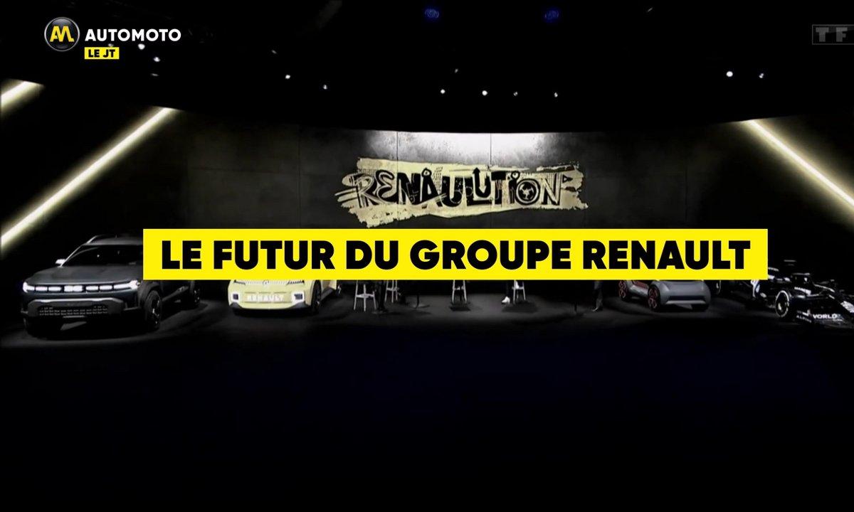 VIDEO - Les futures Renault dévoilées