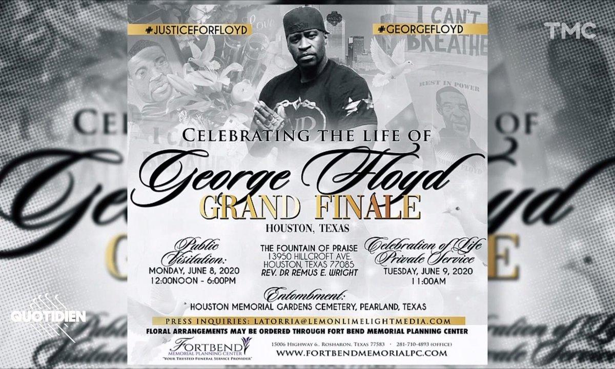 """""""Le grand final de George Floyd"""" : des obsèques chargées de symboles"""