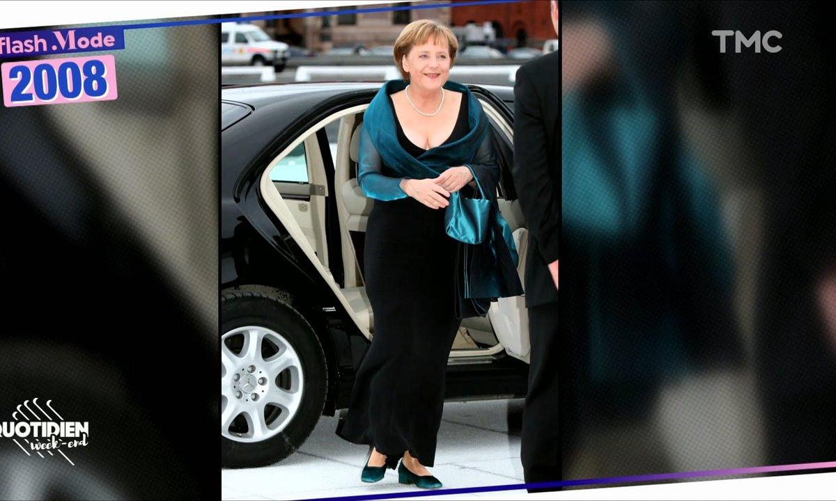 Le jour où Angela Merkel a osé le décolleté