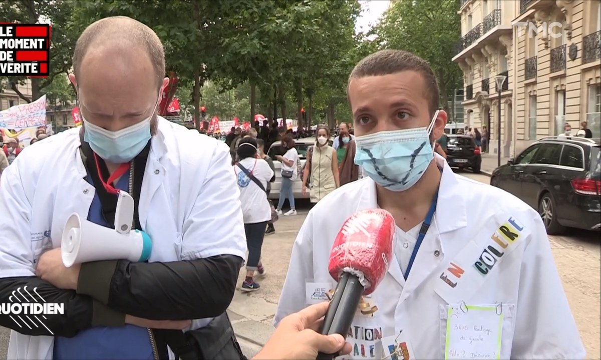"""Le Moment de vérité : """"C'est comme si l'épidémie n'avait jamais existé"""", le ras-le-bol du personnel soignant"""