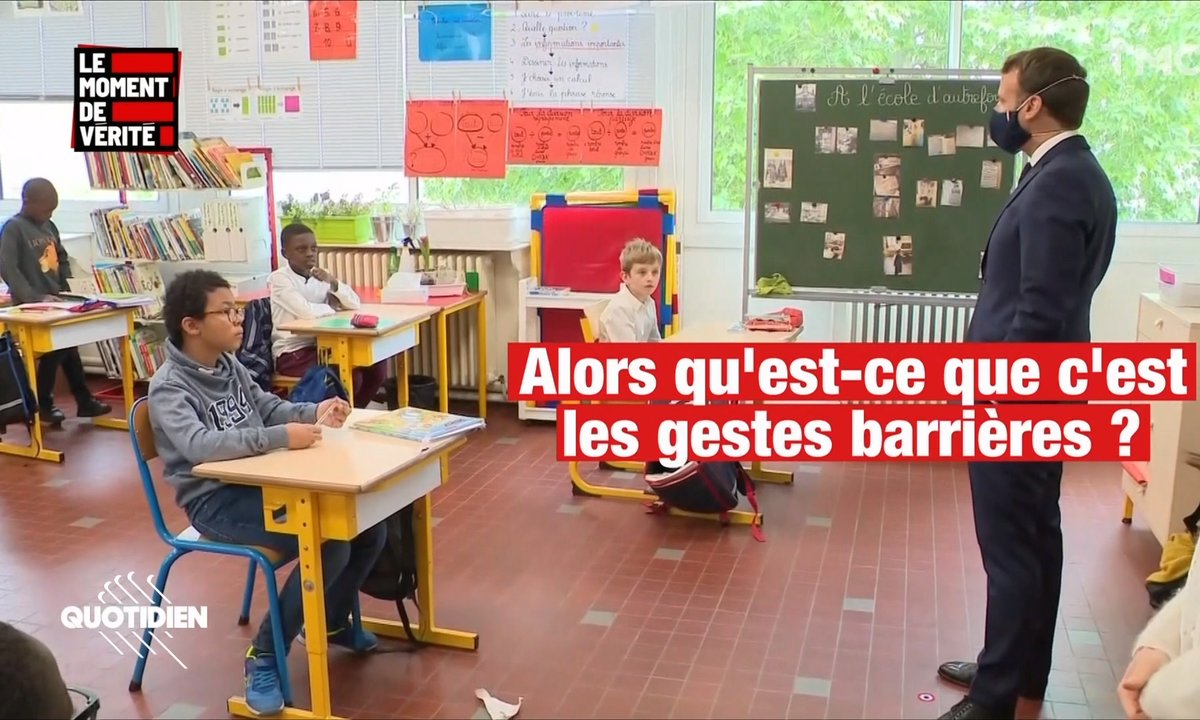 Le Moment de vérité : Emmanuel Macron n'a pas choisi cette école de Poissy par hasard
