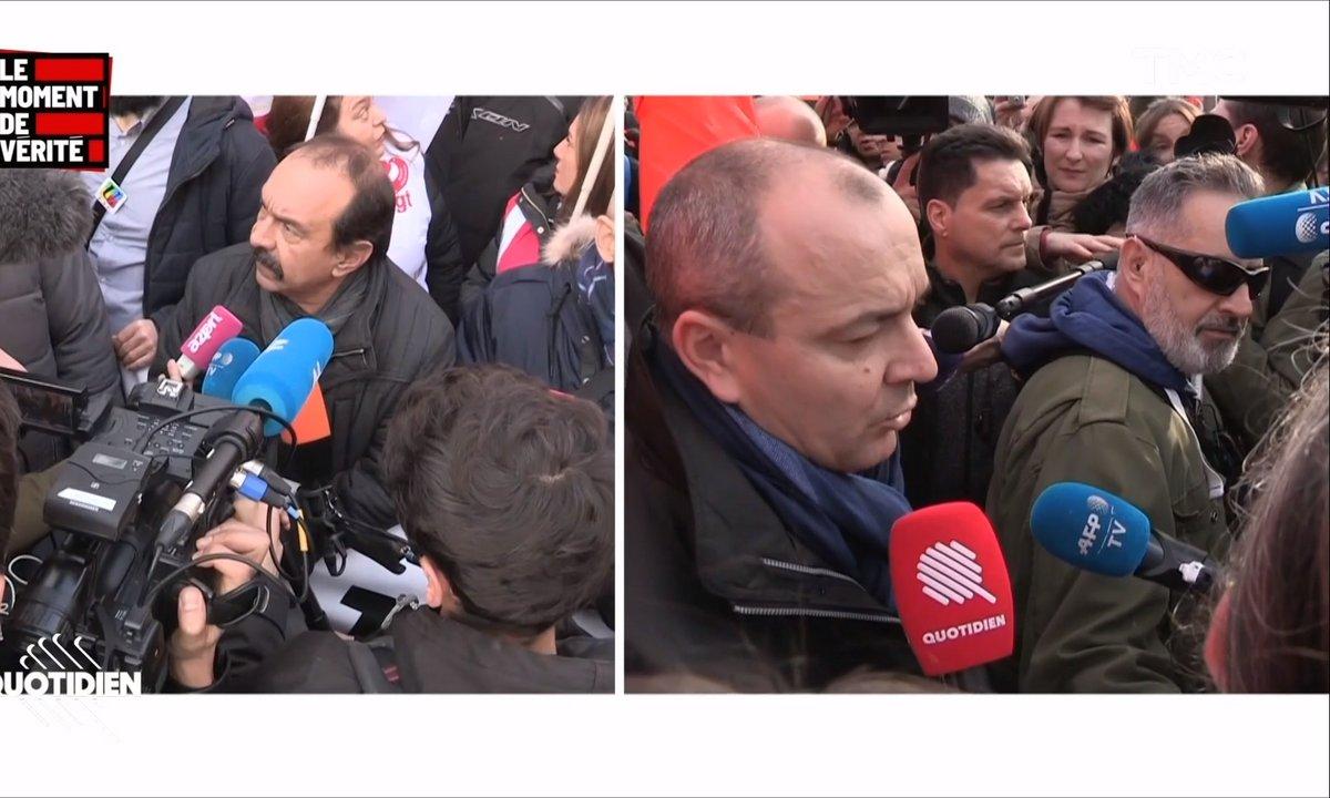 Le moment de vérité : pendant que les syndicats manifestent à l'unisson, Edouard Philippe campe sur ses positions