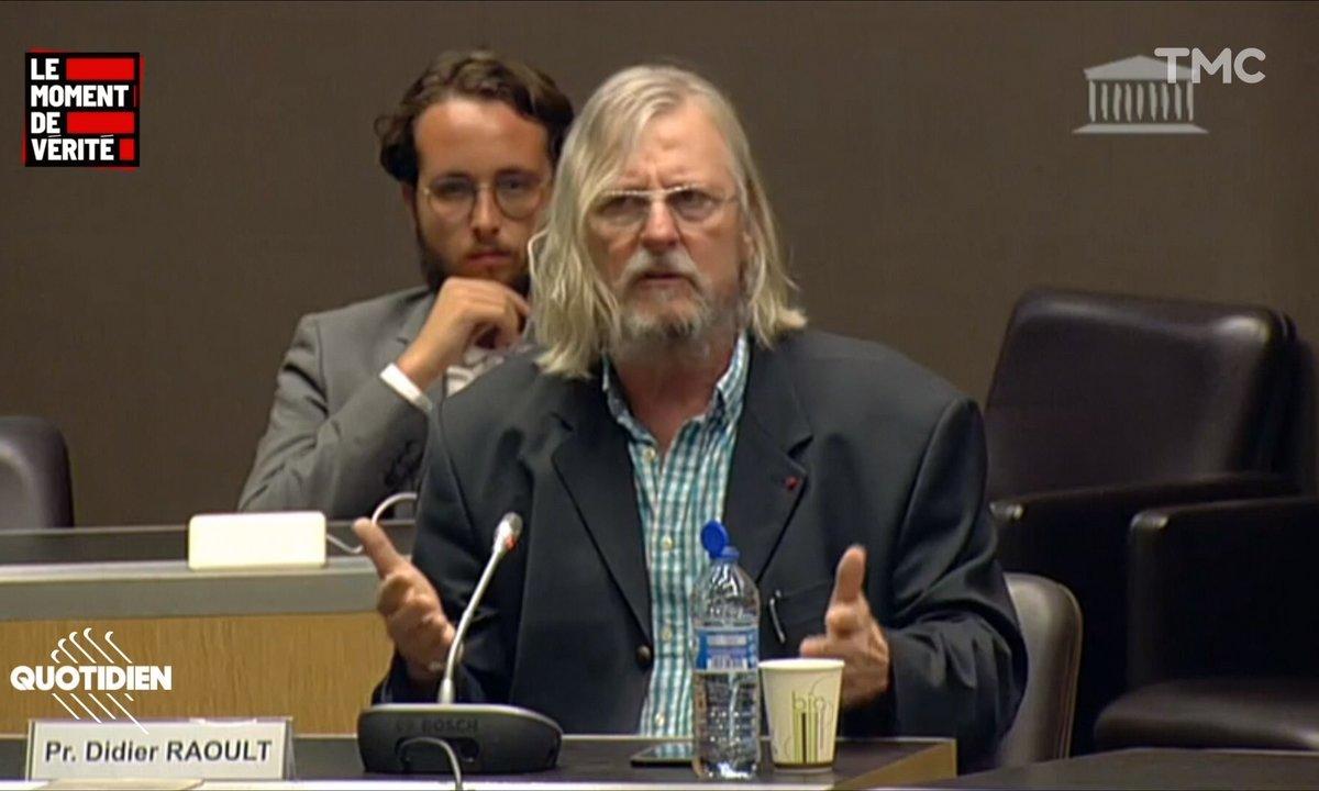 Le Moment de vérité : quels sont les conflits d'intérêt dont a parlé Didier Raoult au cours de son audition ?